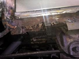 Automobilio kėbulo remonto darbai