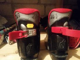 Kalnų slidžių batai 26, 27 dydis. Slidės 85 cm. Kt