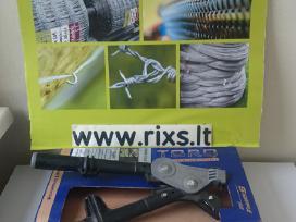 Gripple jungtys vielos tinklui, įrankiai
