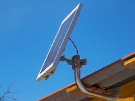 Saulės elektros baterija 20w jėgainė - elektrinė