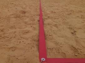 Tinklinio linijos ribos akcija16#8m. 5cm. Pl.