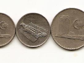 Malaizijos monetu rinkinukas