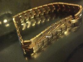 18k auksu pildyta apyranke