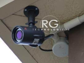 Signalizacijos bei vaizdo kamerų įrengimas! Kaunas
