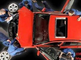 Auto mechaniko - automobilių paruošėjo dazytojo