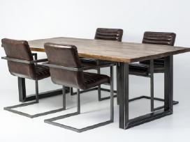 Odines Bergamo kėdė, industrinio metalo rėmas - nuotraukos Nr. 9