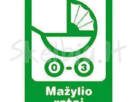 Mažylio ratai - prekės vaikams -20% nuolaida