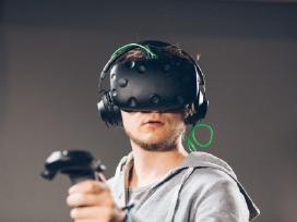HTC Vive virtualios realybės akiniai (nuoma) - nuotraukos Nr. 4