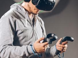 HTC Vive virtualios realybės akiniai (nuoma) - nuotraukos Nr. 5