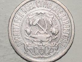 1923 Rusija pinigas 15 kopeks.fine