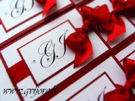 Vestuviniai kvietimai ir kt. vestuvinė atributika - nuotraukos Nr. 3
