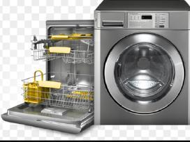 Indaplovių-skalbimo mašinų-viryklių remontas