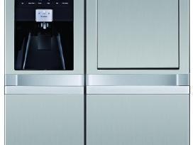 LG Smeg Hanseatic Sbs šaldytuvai