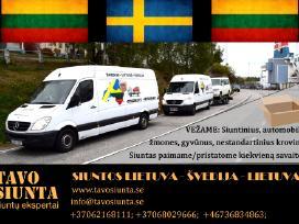 Lietuva- Svedija Siuntos