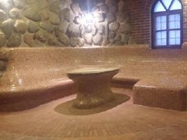 Spa baseinai. Turkiškos Garinės pirtys įrengimas