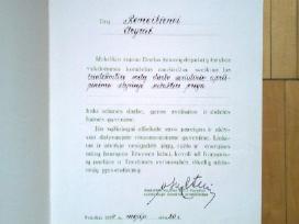 Ltsr soc. aprupinimo prof. komiteto garbes rastai - nuotraukos Nr. 8
