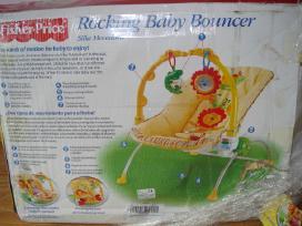 Fisher price gultukas-vibro kėdutė