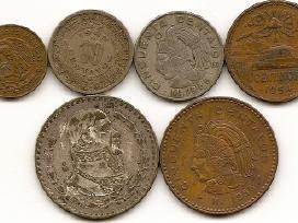 Meksikos poseniu monetu rinkinukas