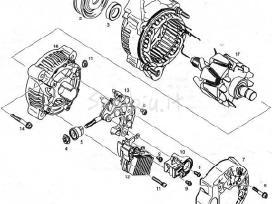 Starteriai generatoriai spec. technikai bosch