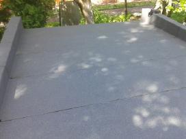 Ploksciu stogu dengimas ir siltinimas