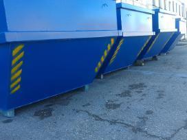Statybinių atliekų konteinerių gamyba