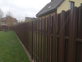 Vertikalios tvoros, tvorų montavimas