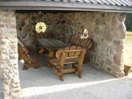 Lauko baldų komplektas moliūgas