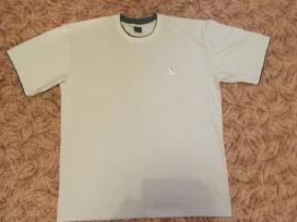 Melsvi didelio dydžio marškinėliai