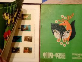Pašto ženklų kolekcijos.