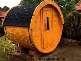 Apvali Lauko pirtis bačka, sauna-kubilas L-1,7m