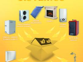 Šildymo vėdinimo sistemų montavimas projektavimas