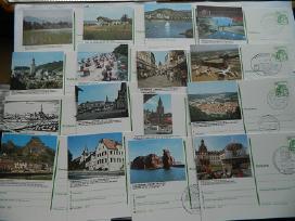 125 vnt.vokisku atvirlaiskiu kolekcija