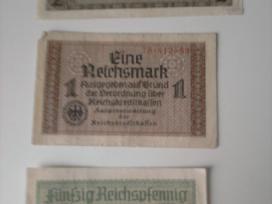 Vokiškos reichsmarkės ir rubliai 1947 - nuotraukos Nr. 2