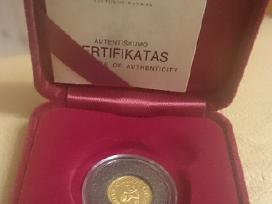 1999 10 Litų Kalvelis, auksas