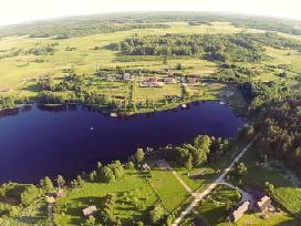 Sodyba ežero krantė Naujiems metams iki 50 asmenu