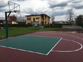 Krepšinio stovai, Lauko sporto įranga