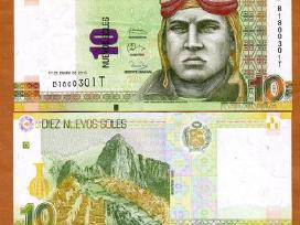 Peru 10 Nauju Soliu 2013m. P187 Unc