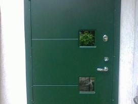 Lauko šarvo durys (su montavimo darbais) nuo 360 €