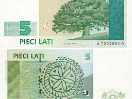 Superku latviškus latus banknotais