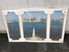 New York paveikslas 3 segmentu