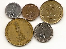 Kitoks Izraelio monetu rinkinukas
