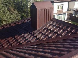 Skardos lankstymas skardinimas stogu dengimas