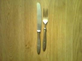 Rusiški peiliai, šakutės