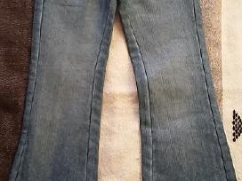 128 cm nauji džinsiukai mergaitei