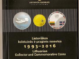 Katalogas Lb kolekcines-progines monetos 1993-2016