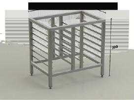 Nerūdijančio Plieno Stalai pagal poreikius - nuotraukos Nr. 9