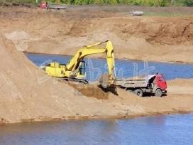 Žvyras smėlis skalda juodžemis 1-18m3 - nuotraukos Nr. 3