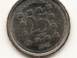 Libanas 25 livres 2002