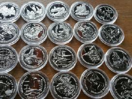 Siūlau įvairiu Rusų monetų komplektu kainos nuo 15