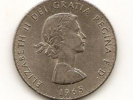 Anglija crown 1965 #910 Cercelis